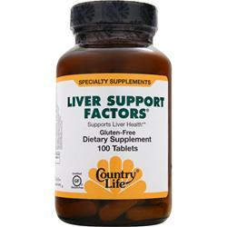 Country Life Liver Support Factors 100 tabs