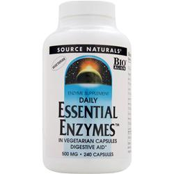 Source Naturals Daily Essential Enzymes (500mg) 240 vcaps