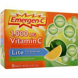 Alacer Emer'gen-C Lite Citrus Lemon-Lime 30 pckts