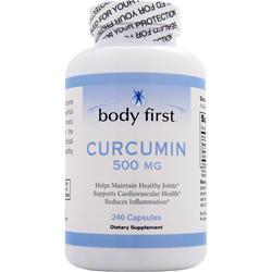 BODY FIRST Curcumin (500mg) 240 caps