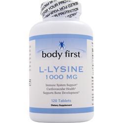Body First L-Lysine (1000mg) 120 tabs