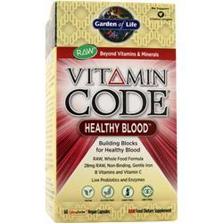 Garden Of Life Vitamin Code - Healthy Blood 60 vcaps