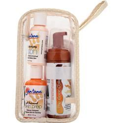 JAN TANA The Color Collection Natural Tan with Moisurizing Lotion, Skin Prep and Puff 1 kit