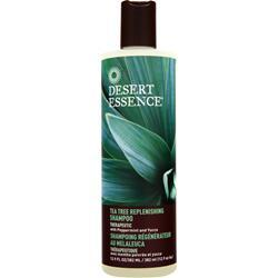 DESERT ESSENCE Tea Tree Replenishing Shampoo 12.9 fl.oz