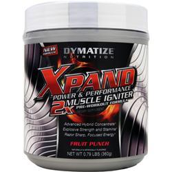 Dymatize Nutrition Xpand Power & Performance - 2X Muscle Igniter Fruit Punch .79 lbs