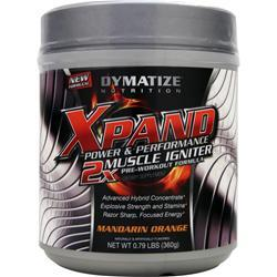 DYMATIZE NUTRITION Xpand Power & Performance - 2X Muscle Igniter Mandarin Orange .79 lbs