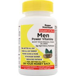 SUPER NUTRITION Simply One Men - One-Per-Day 90 tabs