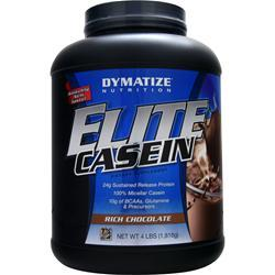 DYMATIZE NUTRITION Elite Casein Rich Chocolate 4 lbs