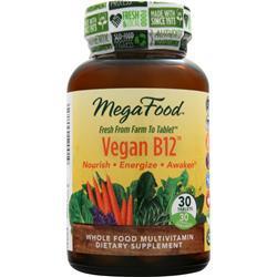 Megafood Vegan B12 30 tabs