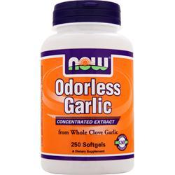 NOW Odorless Garlic 250 sgels
