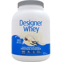 DESIGNER WHEY Designer Whey Protein Natural French Vanilla 4 lbs