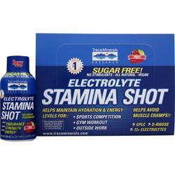TRACE MINERALS RESEARCH Electrolyte Stamina Shot - Sugar Free Berry 12 pck