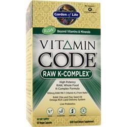 Garden Of Life Vitamin Code - Raw K-Complex 60 vcaps