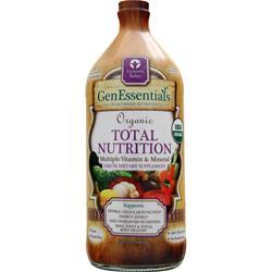 GENESIS TODAY Organic Total Nutrition Liquid 32 fl.oz
