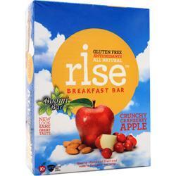 Rise Bar Rise Breakfast Bar Crunchy Cranberry Apple 12 bars
