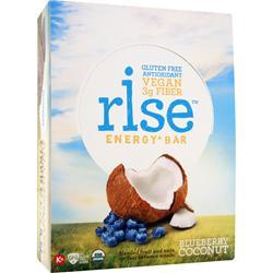 RISE BAR Rise Energy+ Bar Blueberry Coconut 12 bars