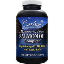 CARLSON Norwegian, Virgin Salmon Oil Complete 240 sgels