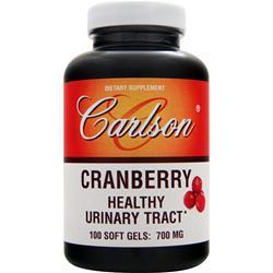 Carlson Cranberry 100 sgels