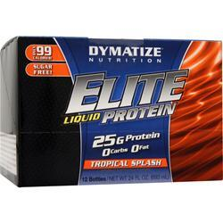 Dymatize Nutrition Elite Liquid Protein Tropical Splash 12 bttls
