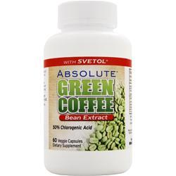 ABSOLUTE NUTRITION Green Coffee Bean Extract with Svetol 60 vcaps
