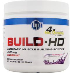 BPI Build-HD Grape Bubblegum 5.8 oz