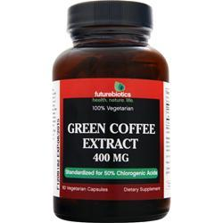 FUTUREBIOTICS Green Coffee Extract (400mg) 60 vcaps