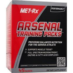 Met-Rx Arsenal Training Packs 45 pckts