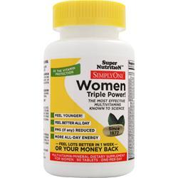 SUPER NUTRITION Simply One Women - One-Per-Day 90 tabs
