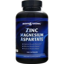 BodyStrong Zinc Magnesium Aspartate 180 caps