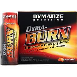 DYMATIZE NUTRITION Dyma-Burn Thermo + Energy Shot Orange 6 bttls
