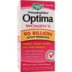 Nature's Way Primadophilus Optima Women's - 90 Billion 30 vcaps