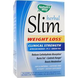 NATURE'S WAY Herbal Slim - Clinical Strength 60 vcaps