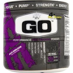 EXT GO - Performance Pre Training Powder Grape Bubblegum 5.29 oz