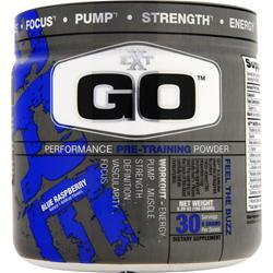 EXT GO - Performance Pre Training Powder Blue Raspberry 5.29 oz