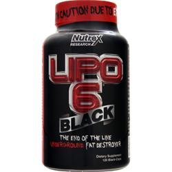 NUTREX RESEARCH Lipo-6 Black 120 caps
