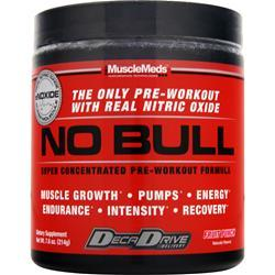 MuscleMeds No Bull - Super Concentrated Pre Workout Formula Fruit Punch 7.6 oz