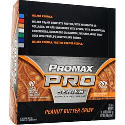 PROMAX Promax PRO Series Bar Peanut Butter Crisp 12 bars