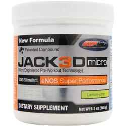 USP LABS Jack3D Micro Lemon Lime 5.1 oz