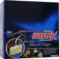 ALLMAX NUTRITION Isoflex Protein Bar Chocolate Almond Delight 12 bars