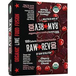 Raw Indulgence Raw Rev 100 Bar Cherry Chocolate Chunk 20 bars