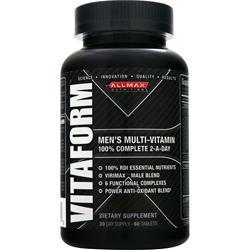 ALLMAX NUTRITION Vitaform 60 tabs