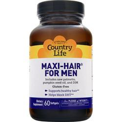 COUNTRY LIFE Maxi-Hair For Men Best by 8/14 60 sgels