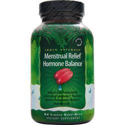 IRWIN NATURALS Menstrual Relief Hormone Balance 84 sgels