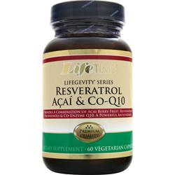 LIFETIME Resveratrol Acai & Co-Q10 60 vcaps