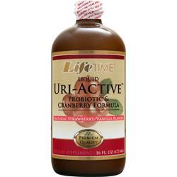 LIFETIME Uri-Active (liquid) Strawberry Vanilla 16 fl.oz