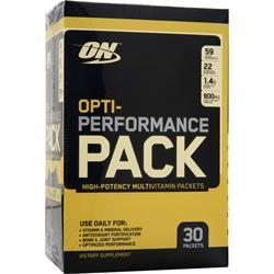 OPTIMUM NUTRITION Opti-Performance Pack 30 pckts