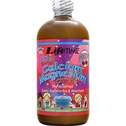 Lifetime Kid's Liquid Calcium Magnesium Citrate Cherry Flavor 16 fl.oz