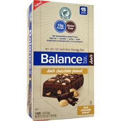 Balance Bar Balance Bar Dark Dark Chocolate Peanut 15 bars