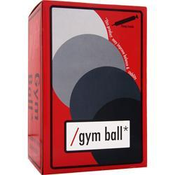 J-Fit Gym Ball with Pump 85cm 1 ball