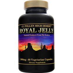 CC Pollen High Desert Royal Jelly (1000mg) 60 vcaps